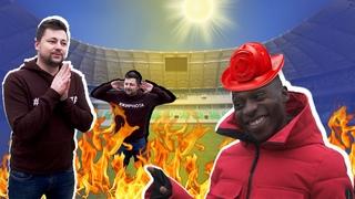 БАТЭ-ВСЕМОГУЩИЙ/Толерантность/Эрвейн Мукам с огнетушителем в Жирном Футболе