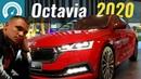 Новая Octavia A8 2020: Skoda разрывает Golf. Шкода Октавия