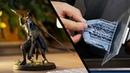 Как реалистично покрасить персонажа из игры Dark Souls Обзор 3д принтера Anet N4