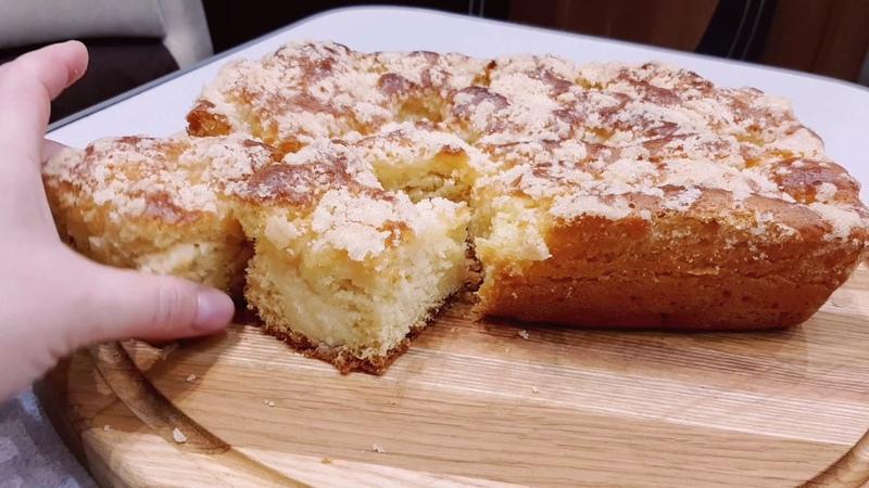 С таким сахарным пирогом торт ненужен !You dont need cake with this pie !