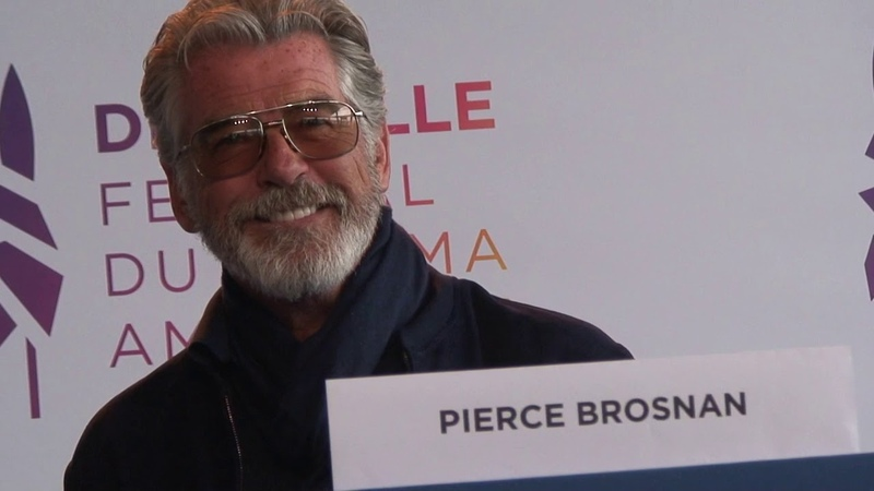 FCAD 2019 press conference Pierce Brosnan