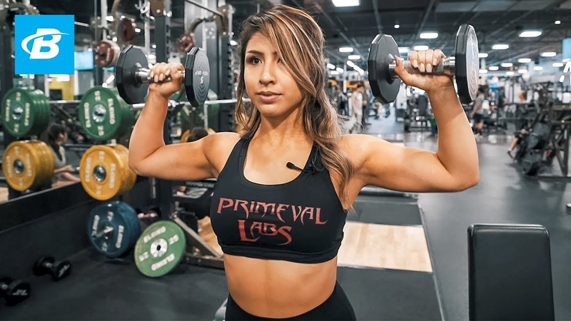 Toned Upper Body Workout Yesenia Ponce