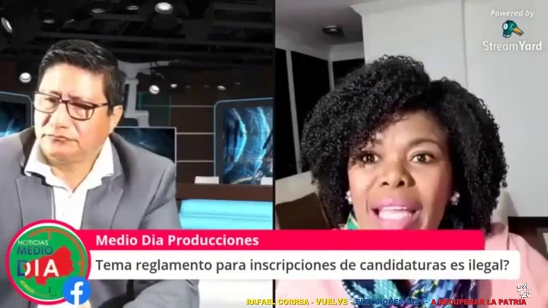 P Cabezas Perseguir a Correa y proscribir a Lista 5 fortalece las posibilidades electorales de RC