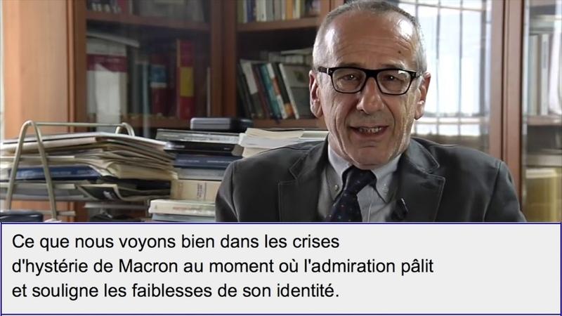 Macron est il un psychopathe Réponse d'Adriano Segatori psychiatre italien
