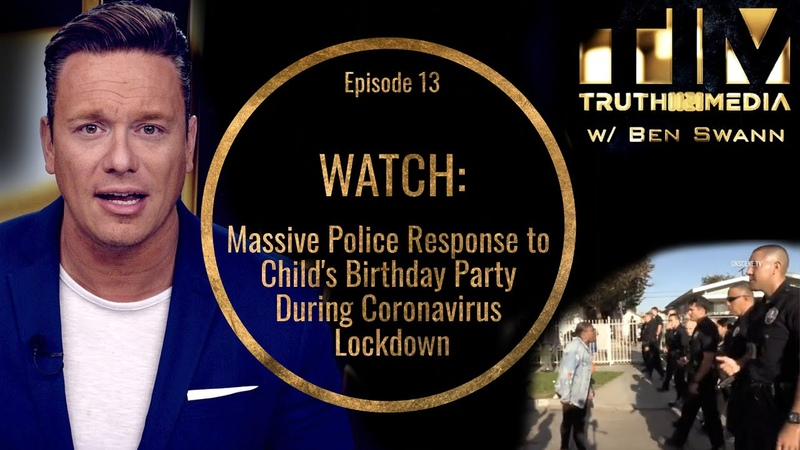 WATCH   Massive Police Response To Child's Birthday Party During Lockdown