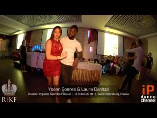 Yoann soares & laura danitza    russian imperial kizomba festival 2019