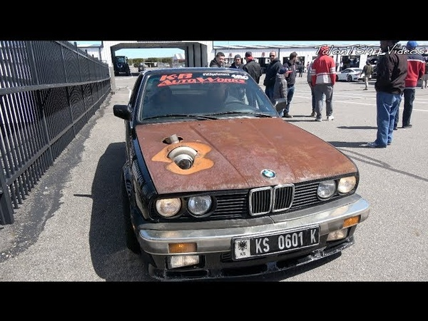 The RUSTY BMW IS BACK! 775whp Turbo E30 Vert Roll Racing