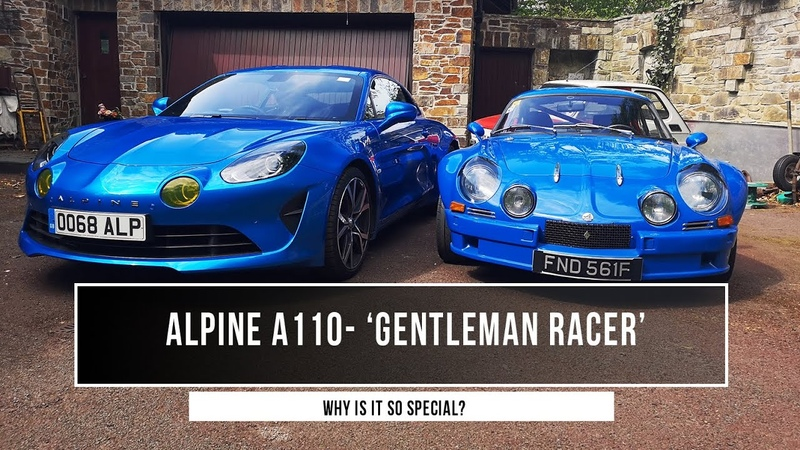 Alpine A110 The Gentleman Racer Why it is the most original sports car out there