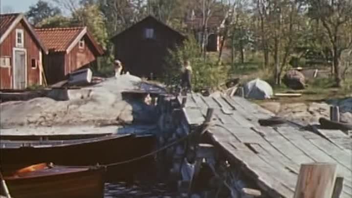 На острове Сальткрока сериал Vi på Saltkråkan 1964 01