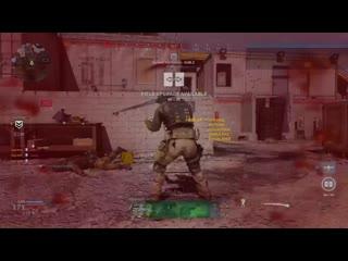 One shot, three heads. Modern Warfare