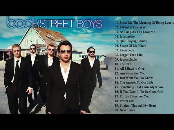 Backstreet Boys Full Album | バックストリート・ボーイ 人気曲 メドレー 2018 | Backstreet Boys Playlist