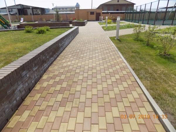 Тротуарная плитка цена от производителя в Томске