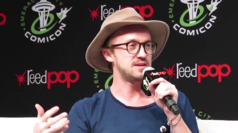 TOM FELTON (Harry Potter, The Flash) - Emerald City Comic Con 2017 - ECCC FULL Panel