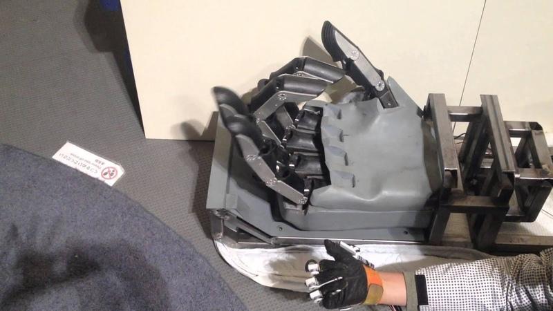 KURATAS HAND (Servo motorGlove Controler)