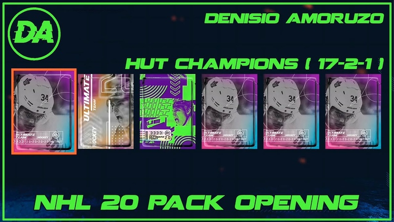 №72 NHL 20 HUT Pack Opening (Hut Champions Rang - 24 )