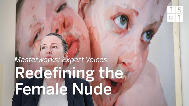 The Monumental Intimacy of Jenny Saville's Female Nude