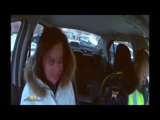 Девушку на тонированном авто задержана сотрудниками ГИБДД