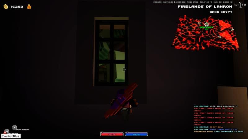 Бестолково играю в Cubeworld дватри