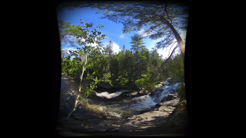 Relax in 5 Minutes with Nature Sounds in VR180 3D Virtual Reality Experience with Ambisonics Audio