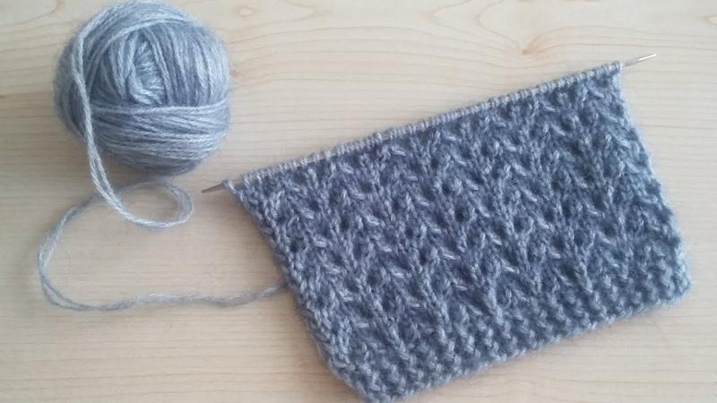 Susam Başağı Örgü Modeli Yapılışı Yelek Modelleri knitting pattern Strickmuster