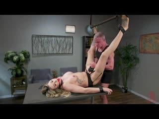 (shemale) Punishment of transgender secretary (hard, domination)