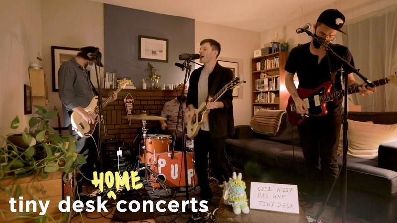 PUP Tiny Desk Home Concert