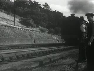 Ночная почта / Night Mail / 1936. Режиссеры: Гарри Уотт, Бэзил Райт.