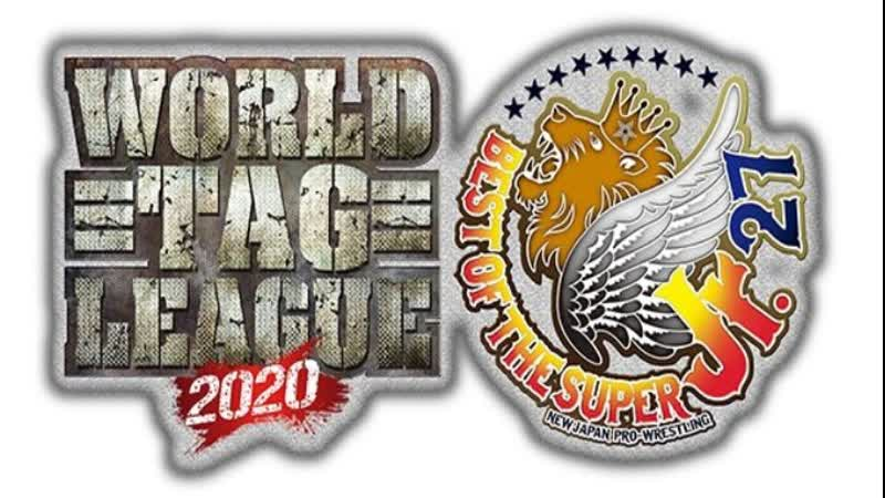 НЖПВ Мировая коммандная лига Лучшее из Супер юниоров27 День Третий 18 11 2О2О Японская версия