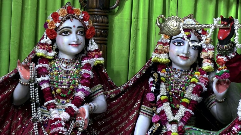Darshan of Sri Sri Radha Madhava February 13 2020