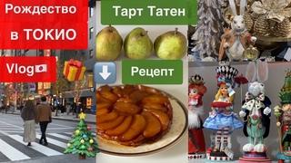 Рождество в Токио 🇯🇵 Vlog JAPAN 🎄 Декор 🎂 Готовлю десерты с грушей🍐  Японские БАДы для молодости✨