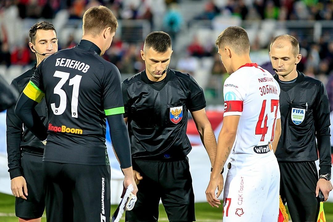 Матч 29-го тура «Спартак» – «Ахмат» будет судить Алексей Сухой
