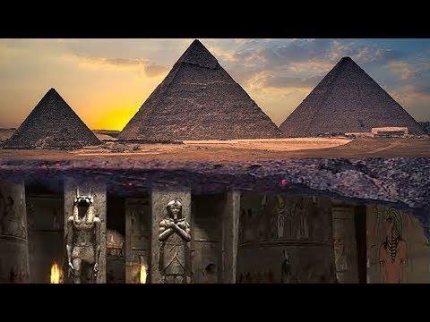 Que hay bajo las piramides de Egipto