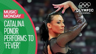 Catalina Ponor sets the floor ablaze to Fever by Peggy Lee! | Music Monday