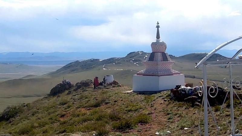 The Footprint of Buddha southern Tuva Siberia Russia