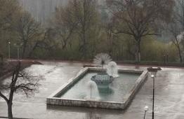 Открытие сезона фонтанов в Липецке перенесут
