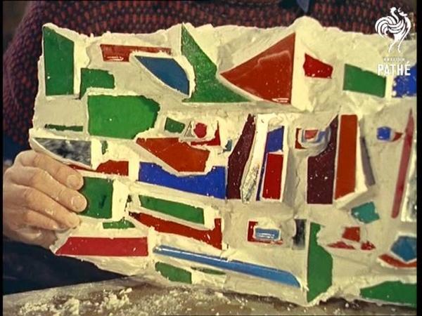 Mosaic Sculpture 1960