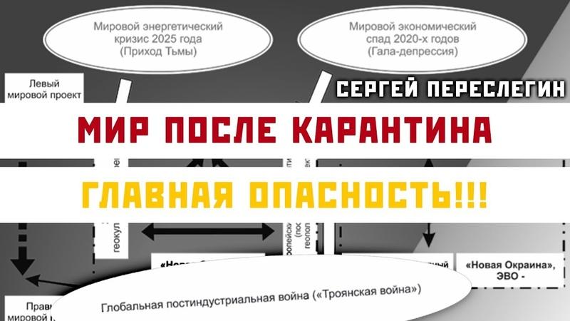 Мир После Карантина Главная Опасность Сергей Переслегин
