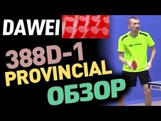 DAWEI 388D-1 Provincial (Professional) OX - обзор длинных шипов. Для чего длинные шипы тест накладки