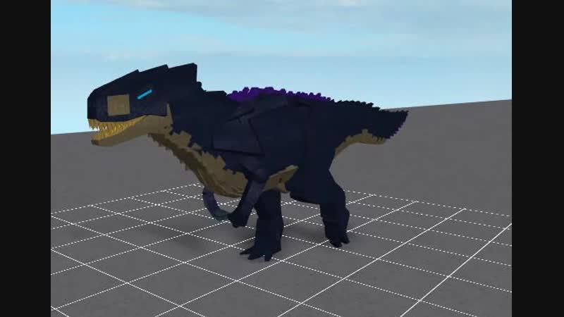 Abrasive Giganotosaurus walkanimation