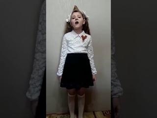 """#бухенвальдскийнабат_липецк2020 Флешмоб МБОУ СОШ №7 3""""А"""" Рубанова Ольга"""