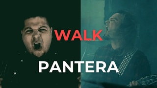 Pantera - Walk (cover by Andrey Smirnoff feat. Anton Artamonov)
