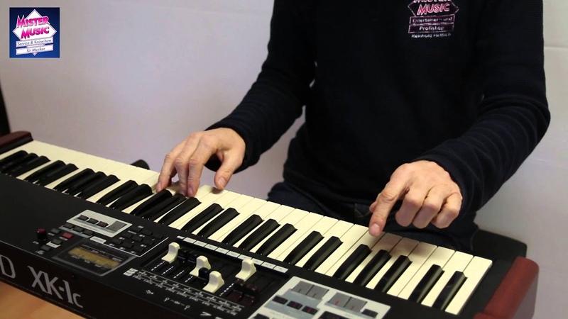 Hammond XK 1c Organ Sounds programmiert von Mister Music