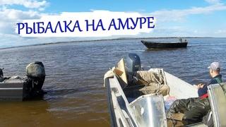 Рыбалка сетями на Амуре. Сплавная сеть. Лососевая путина