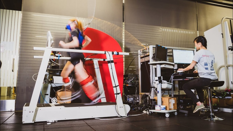 Stanford researchers find ankle exoskeleton makes running easier