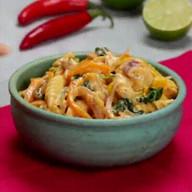 id_55834 Сливочная паста с курицей, овощами и шпинатом 🍝  Автор: Tasty  #gif@bon