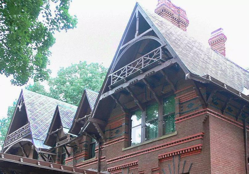 Фототур по дому Марка Твена в Коннектикуте, изображение №12