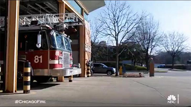 Выезд Расчётов Пожарных Чикаго
