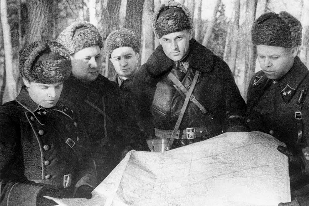 Рассекречены архивные документы об участии войск НКВД в битве под Москвой