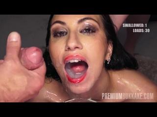 Henna Ssy - Swallows 45 Cumshots PremiumBukkake PB handjob blowjob boobs busty fetish swallow заливка спермой минет камшот