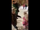 Дед Мороз и Снегурочка и наши танцы